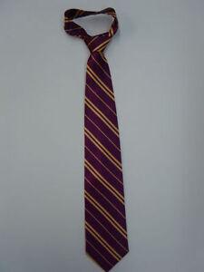 New Harry Potter Gryffindor Neck Ties Neckties Fancy Dress Hogwarts Hermione Tie