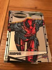 2015 Upper Deck Marvel Vibranium 90-Card Base Set Deadpool Wolverine