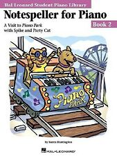 Notespeller for Piano Book 2 Visit Piano Park Spike by Harrington Karen