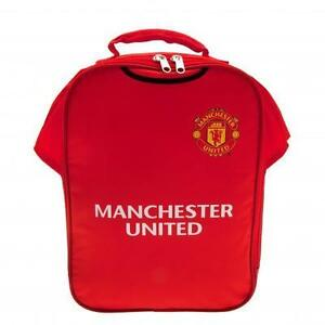Manchester United Official Football Gift Kit Lunch Box Cool Bag Back to School