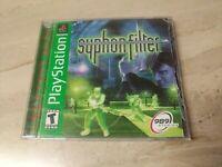 Syphon Filter Sony PlayStation PS1 989 Studios  Shooter Teen Single Player
