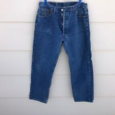 Vtg Levi's 501 Button Fly jeans men's measures 36 X 30 USA MADE