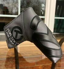 Scotty Cameron Black Industrial Circle T Tour Headcover - -NEW