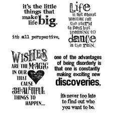 Tim Holtz Cling Stamps - Good Thoughts