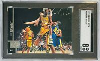 KOBE BRYANT 1997-98 UPPER DECK CARD #58 SGC GRADED MINT 8 LOS ANGELES LAKERS HOF