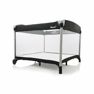 Joovy Room²-Playard, Portable-Playard, Playpen, Black with waterproof sheet