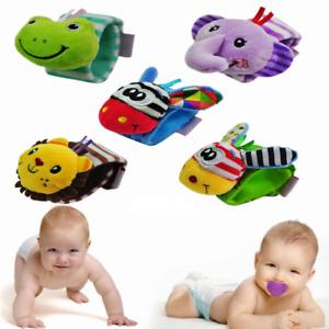Soft Rattle Baby Sensory Maternal Toy Finder Wrist Rattle Bracelet Toy Gift UK