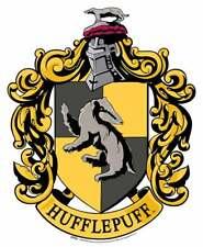 hufflepuff escudo de Harry Potter de Pared Oficial Silueta de cartón