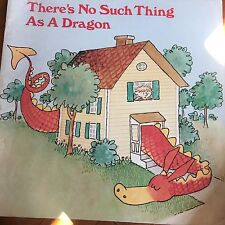 Teacher Big Book THERES  NO SUCH THING AS DRAGON Kindergarten 1st Oversized