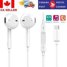 USB-C Type-c Earphone In-Ear Microphone Headset Deep Bass&HIFI Stereo For Huawei