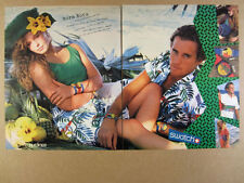 1987 Swatch Bora Bora Collection nafea & wapitu watches vintage print Ad