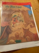 Vintage The First Noel Nativity Hallmark Advent Calendar Christmas BD1