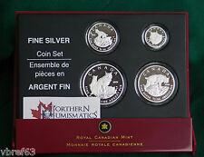 2005 CANADA EMPTY CASE + COA (no coins) for 4 coin Lynx set (99.99% silver)