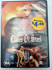 Claws Of Steel Wong Fei Hung DVD PAL R4 MA15+