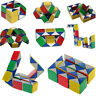 Magic 3D Snake Puzzle Game Cube Toy Party Travel Child Kid Brain Twisting Speed.