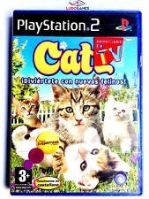 Catz Diviértete con Nuevos Felinos! PS2  Playstation Nuevo Precinto Roto Retro