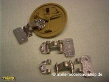 Schumo-Kits TI0013 Lukenscharniere Metall, beweglich, Tiger I