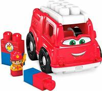 MEGA BLOKS  - FIRST BUILDERS -FREDDIE THE FIRE TRUCK **NEW**