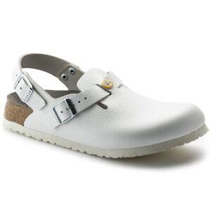 Birkenstock Tokio Super Grip Unisex Work shoes | safety Shoe | Natural Leather -