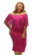 Clubwear Dresses for Women with Fringe