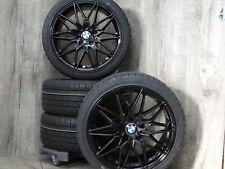 18 Zoll Damina DM02 Black Winter Kompletträder BMW 3er E90 E91 E92 Limo Kombi