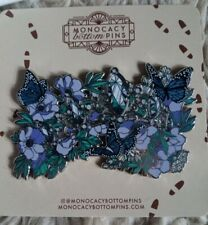 More details for harry potter enamel pin fleur delacour wedding tiara butterflies monocacybottom