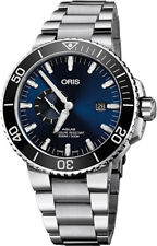 74377334135MB | BRAND NEW ORIS AQUIS SMALL SECOND DATE 45MM AUTOMATIC MENS WATCH