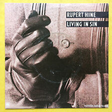 Rupert Hine - Living In Sin / An Eagle's Teaching - A&M AM-111 Ex+ Condition