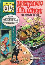 """OLE MORTADELO Y FILEMON Nº 112 """"Los bromazos del jefe"""" PRIMERA EDICION AÑO 1975"""