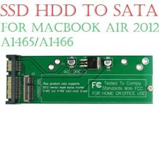 "SSD HDD to SATA adapter Card for 2012 11"" 13"" MacBook Air A1465 & A1466"