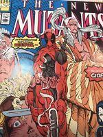 The New Mutants #98 (Feb 1991, Marvel) Signed