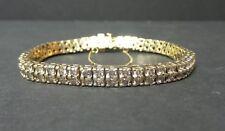 "10K GOLD & DIAMOND 7.5"" TENNIS / LINE BRACELET, 24.9 grams, $4500.00 APPRAISAL"