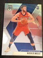Nicolo Melli 2019-20 Panini Mosaic Base Rookie Card #216 Pelicans NBA