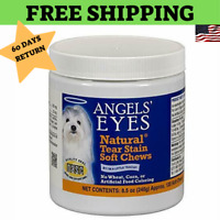 Angel's Eyes 120 Count Supplement Natural Tear Stain Remover Soft Chews for Dogs