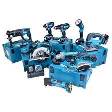 MAKITA 10CTJ 18v 5.0Ah Li-ion Cordless 10 Piece Kit