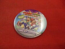 Mario & Luigi Superstar Saga Nintendo Game Boy Advance Pin Button Promo Pinback