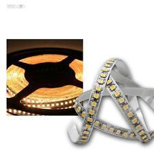 (13,34€/m) 5m LED Lichtband, 180 SMDs/m warmweiß 12V Streifen Stripe Leuchtband
