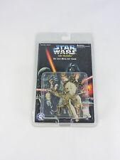 LUKE SKYWALKER Die Cast Metal Key Chain STAR WARS Placo Toys 2.5-in ring 1996