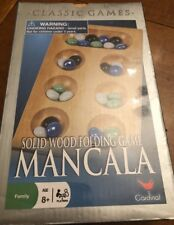 Solid Wood Folding Mancala Game By Cardinal New Sealed