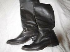 Diesel Womens Size 9 Brown Leather Boots Pre Owned