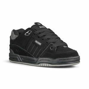 Globe Men's Fusion Black / 3M Pebble Skate Shoes Trainers UK 13 EU 48