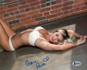 CIARA PRICE SIGNED AUTOGRAPHED 8x10 PHOTO PLAYBOY PLAYMATE SEXY BECKETT BAS