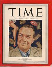 Time Magazine September 20m 1943 Bob Hope