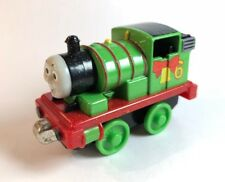 Thomas & Friends Percy Metal Diecast With Christmas Bow Bell Snow Holiday Engine