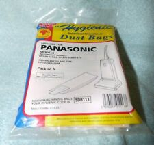 5 Strong Dust Bags for Upright Panasonic Vacuum Cleaner hoover U20E MCE