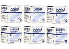 Habitrol Nicotine Gum 2mg FRUIT flavor bulk 2304 pieces 6 boxes NEW