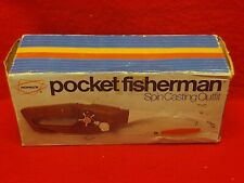 1972 Vintage Popeils Pocket Fisherman w/box, carry case, and instructions NIB