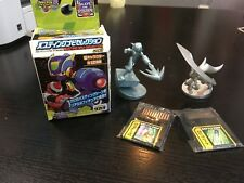 MEGA MAN NT WARRIOR BLIND BOX FIGURES PROTOMAN SILVER VARIANTS WITH BATTLE CHIPS