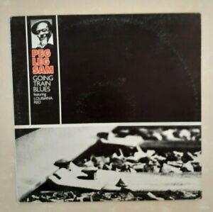 (PEG LEG SAM-Going Train Blues)-Featuring Louisiana Red/blues harmonicist-F0-LP