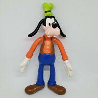 "Vintage Goofy 6"" Bendable PVC Figure Disney Bendy Applause"